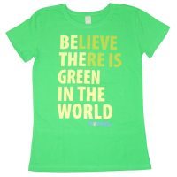 Kids T-Shirt - Green is the world (Green)