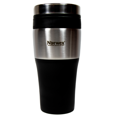 Stainless Steel Travel Mug 475ml x 2 (Buy one get one free offer)
